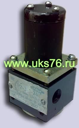 Гидрораспределитель с электромагнитом